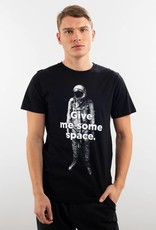 Dedicated T-SHIRT GIVE ME SOME SPACE BLACK