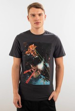 Dedicated T-SHIRT LAZER CATS CHARCOAL