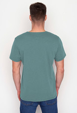 Greenbomb T-SHIRT SPICE BLUE BASE