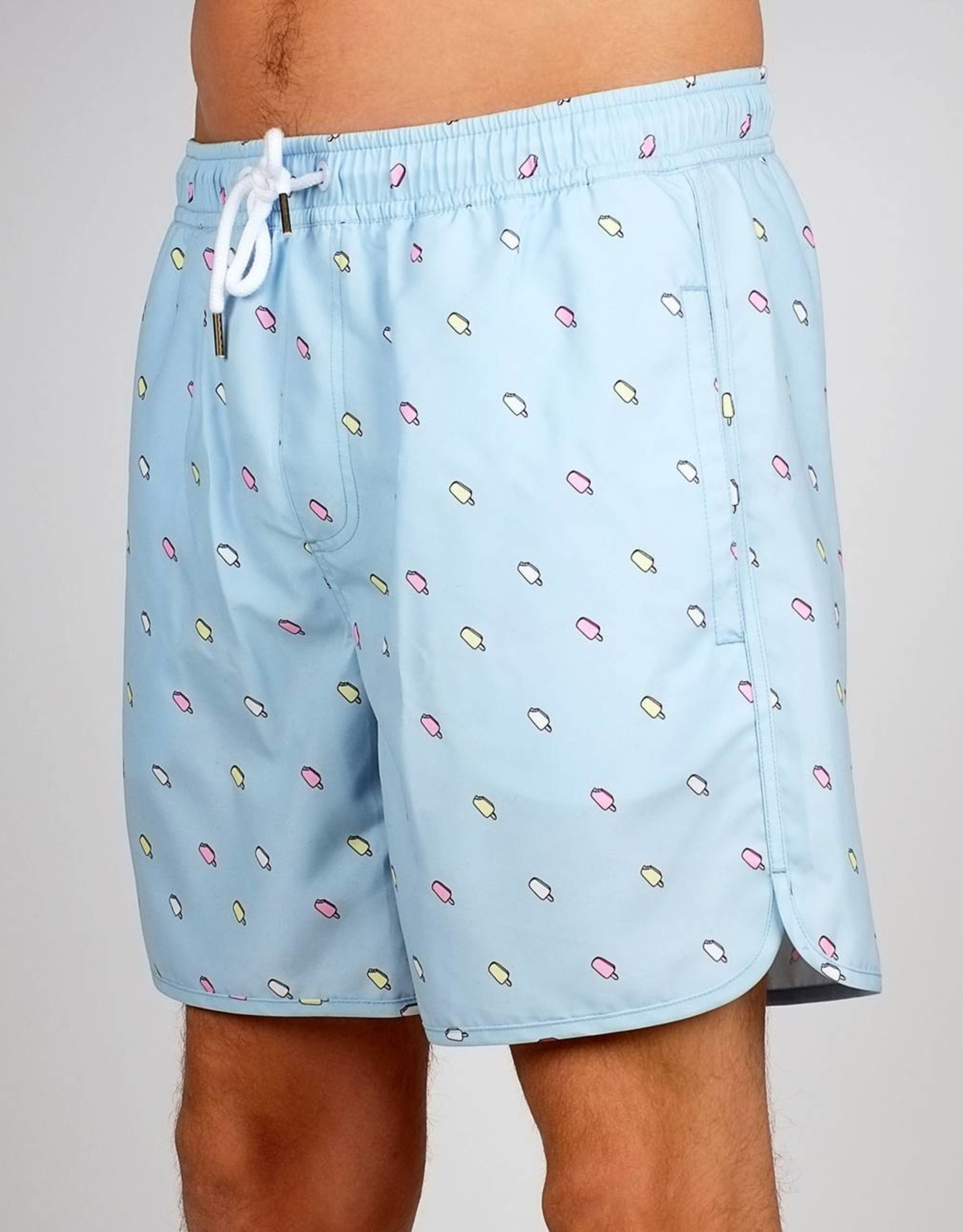 ZWEMSHORT ICE CREAMS LIGHT BLUE