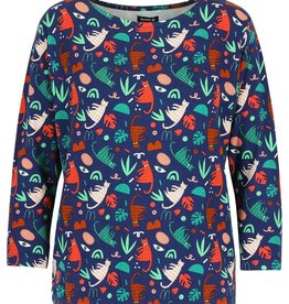Lily-Balou Women BLOUSE CATS & PLANTS