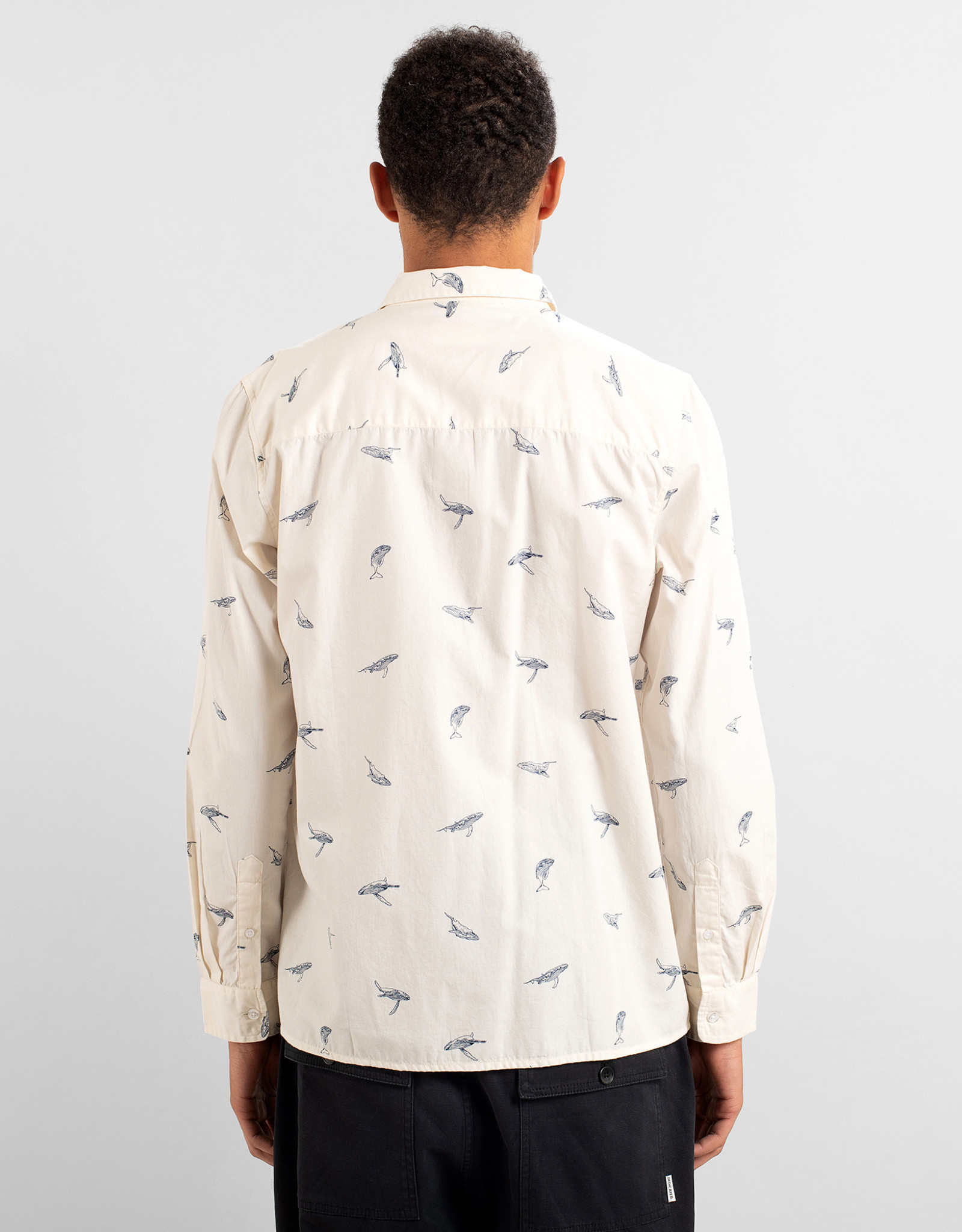 Dedicated HEMD WHALES OFF-WHITE