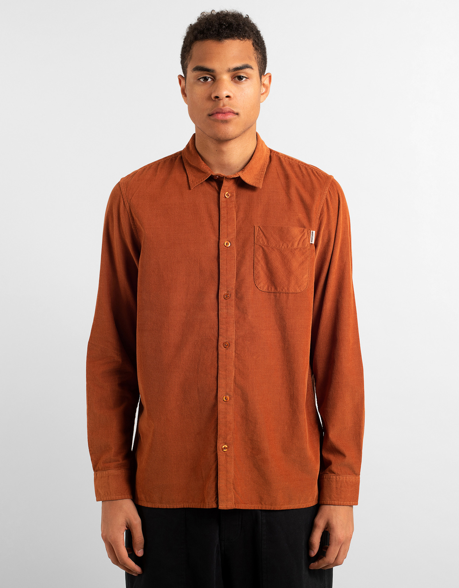 Dedicated HEMD CORDUROY MOKKA