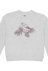 Dedicated SWEATSHIRT BIRD FOREST EMBROIDERY