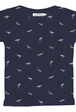 Dedicated T-SHIRT WHALES NAVY