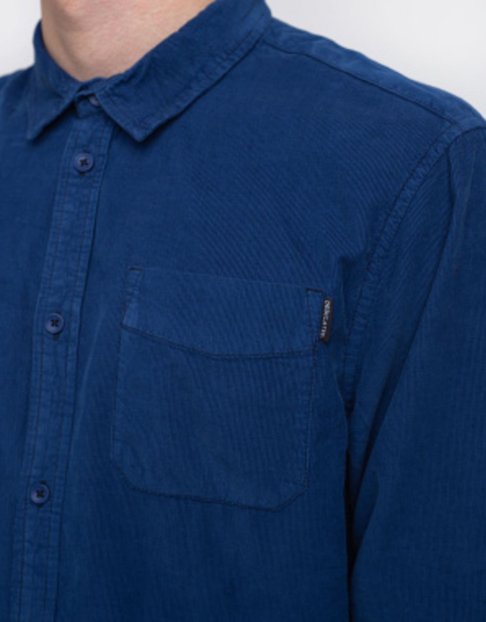 Dedicated HEMD CORDUROY BLUE