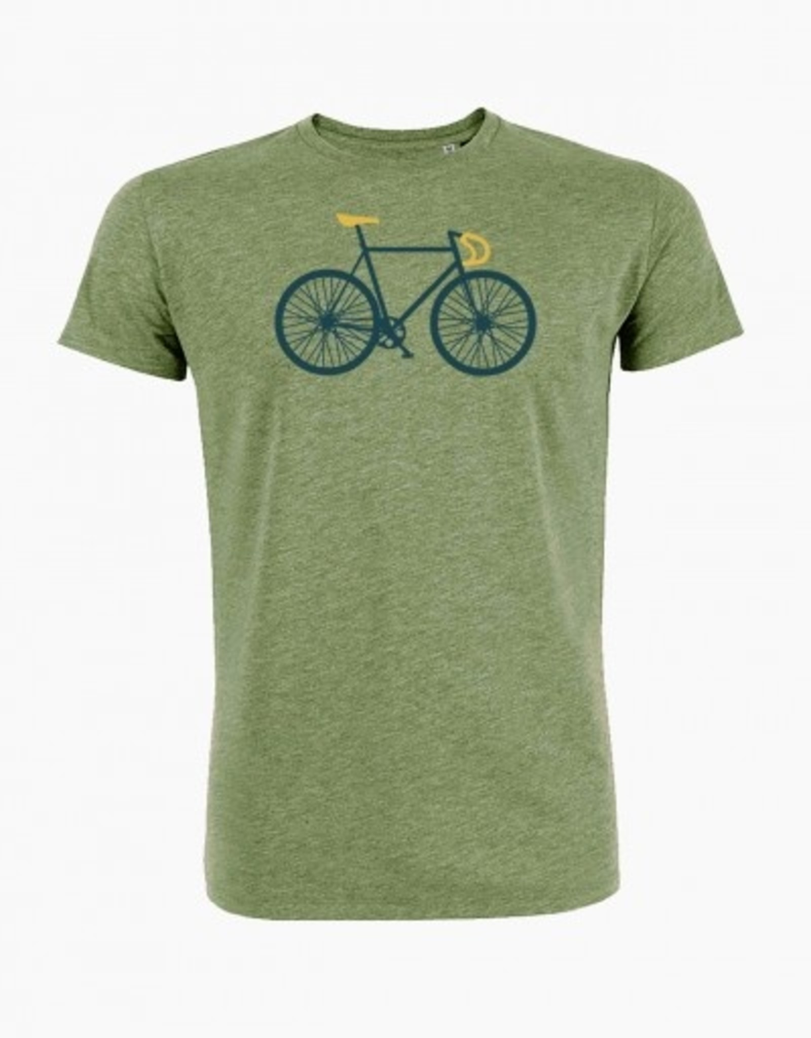 Greenbomb T-SHIRT BIKE GREEN