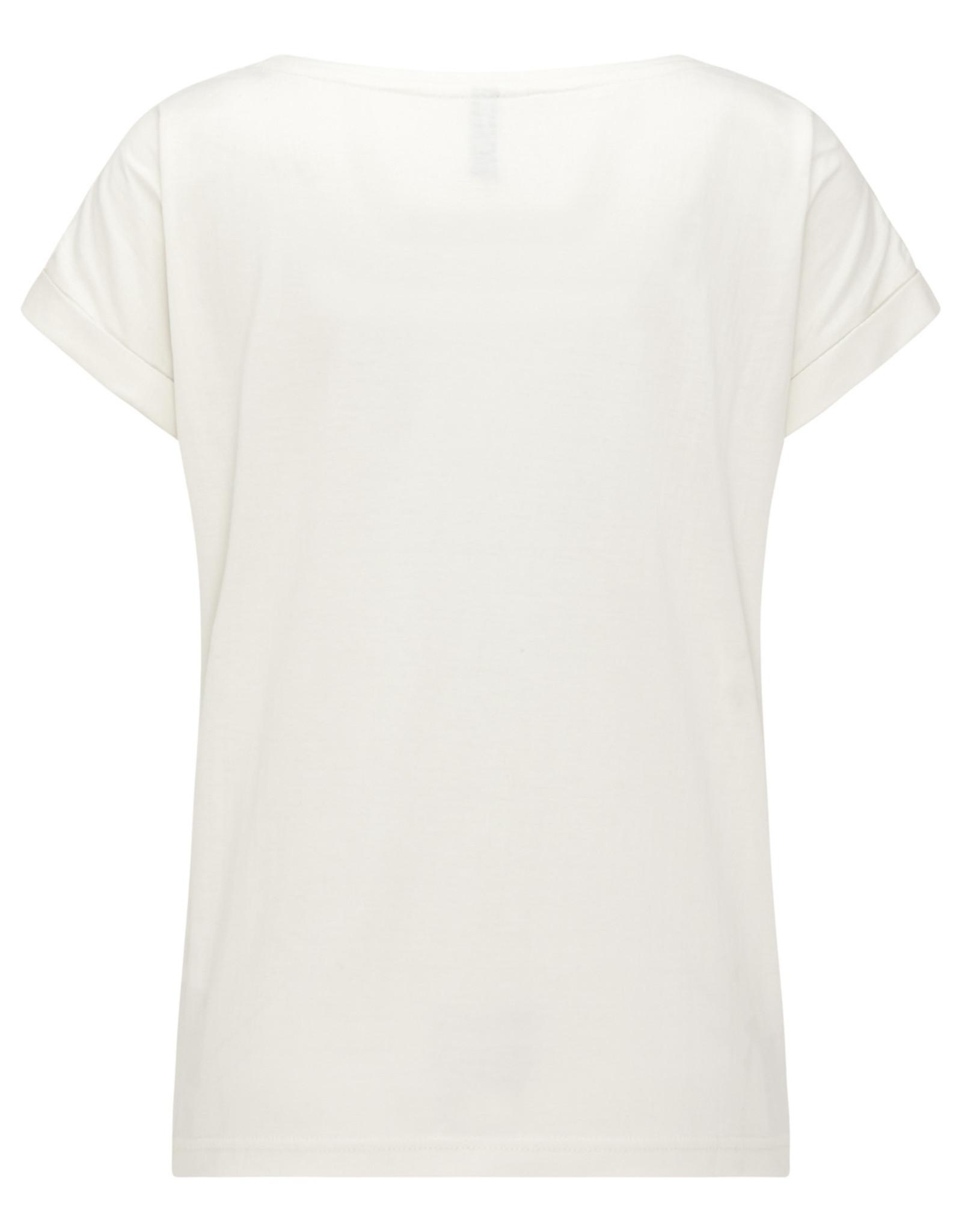 Tranquillo T-SHIRT LENA OFF-WHITE
