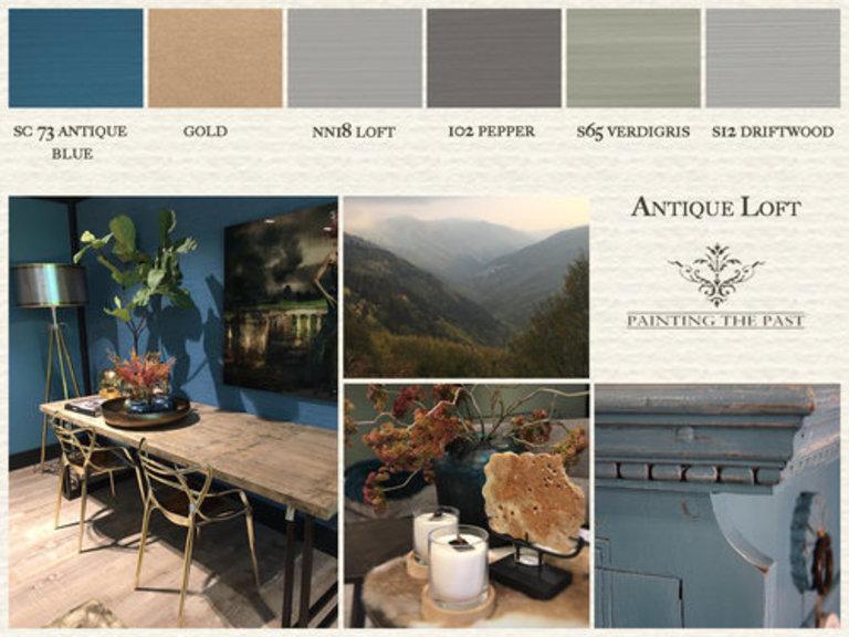 Painting The Past Wandfarbe Die Kreidefarbe Auf Wasserbasis Barbara Enste Farben Schones