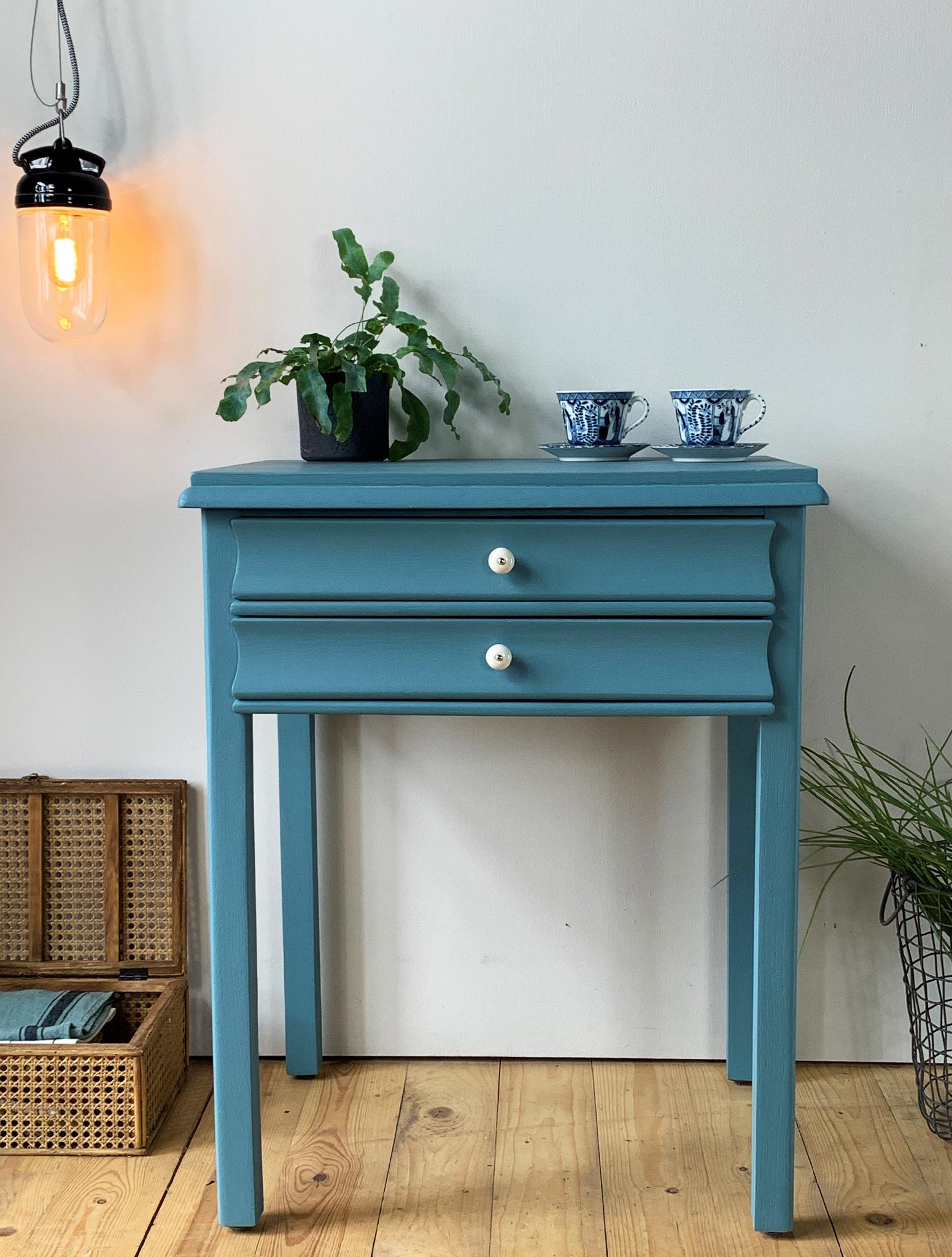 Möbelfarbe Antique Blue