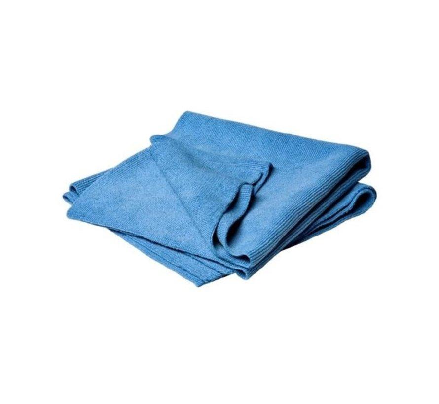 BASIC Microvezeldoekjes Blauw 10 stuks 38cmx38cm