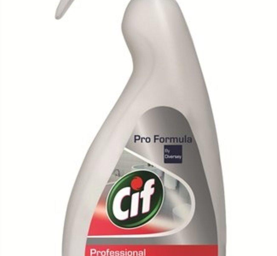 Cif Pro Formula 2in1 Sanitairreiniger 750 ml sproeiflacon