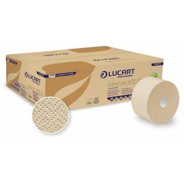 Lucart Jumbo Toiletpapier EcoNatural Recycled