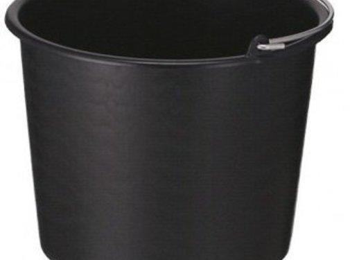 Eigen merk Bouw/glazenwassersemmer standaard div. kleuren 12L