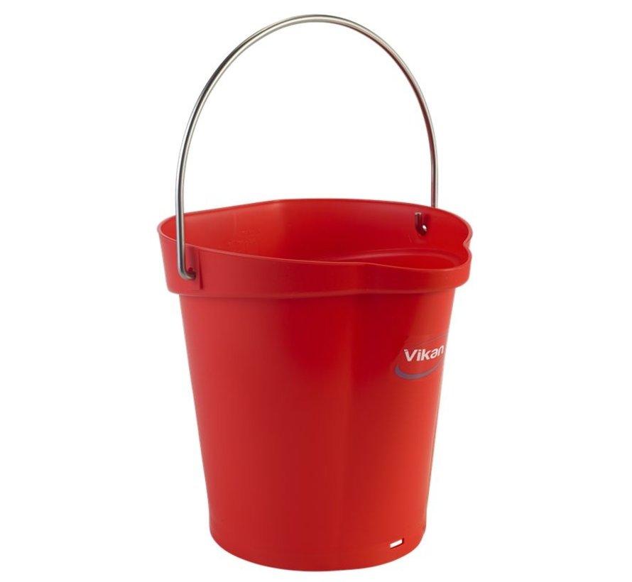 6 liter emmer leverbaar in div. kleuren
