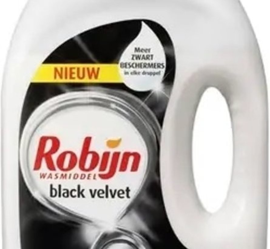 Robijn Vloeibaar Wasmiddel Black Velvet 2,25 L