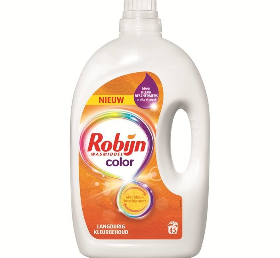 Robijn Vloeibaar Wasmiddel Color 2.25L