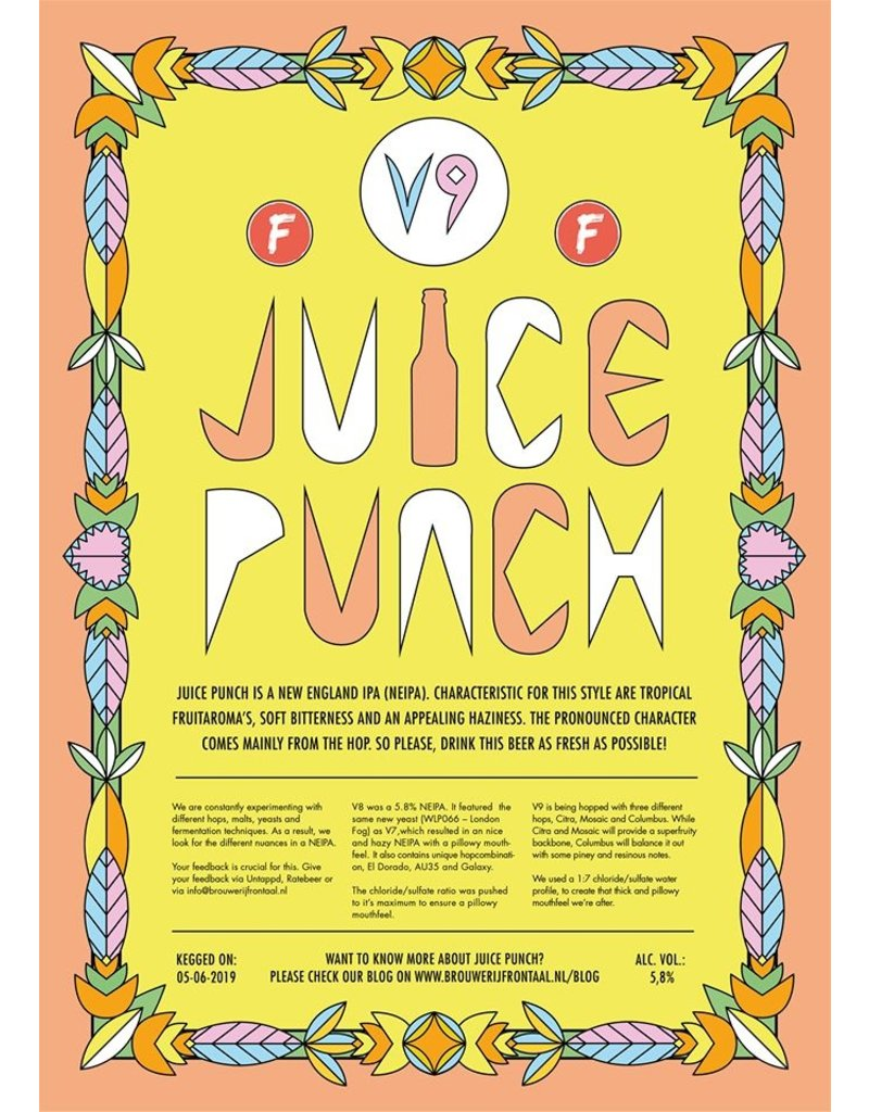 Frontaal Frontaal - Juice Punch v9 (pre-order)