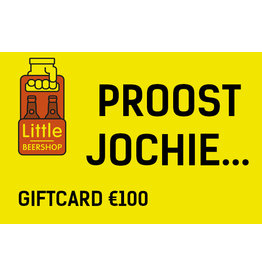 Giftcard €100 + €5 extra tegoed