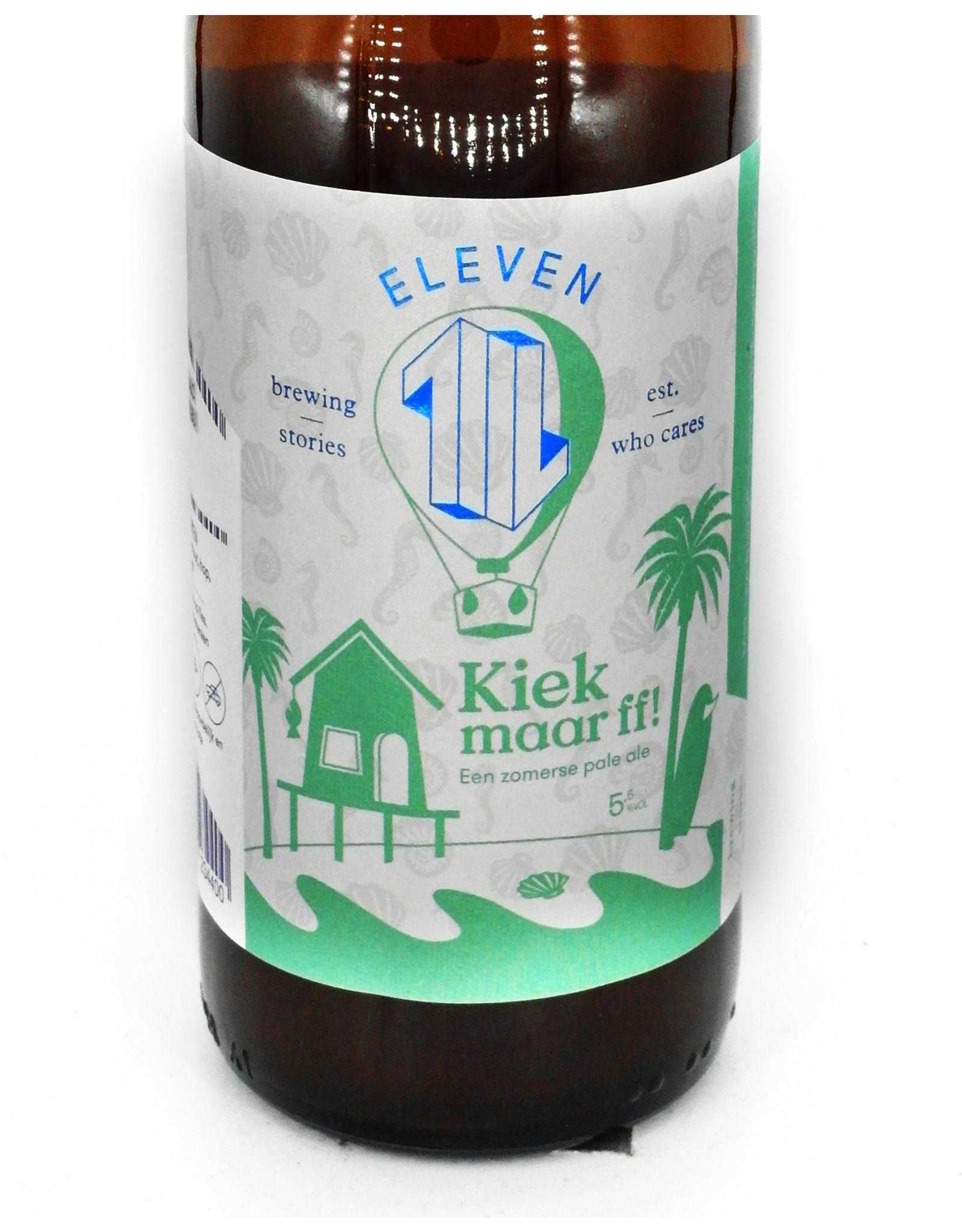 Eleven Brewery Eleven Brewery: Kiek maar ff