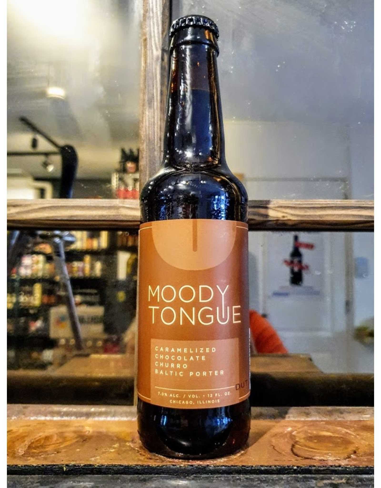 moody Moody Tongue: Caramelized Choco Churro