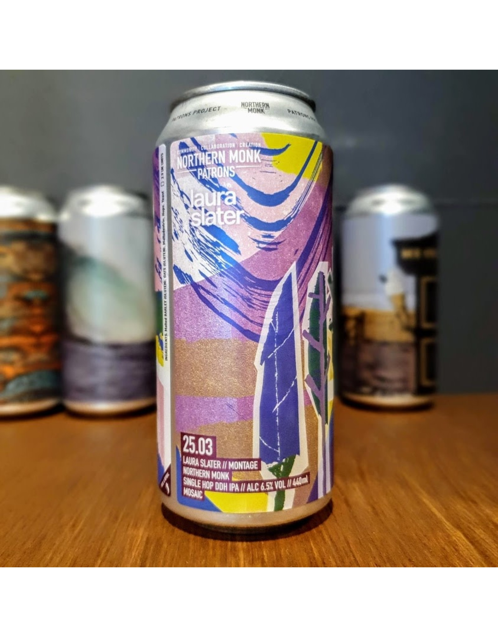 Northern Monk: Patrons Project 25.03 Laura Slater // Montage // Single Hop DDH IPA