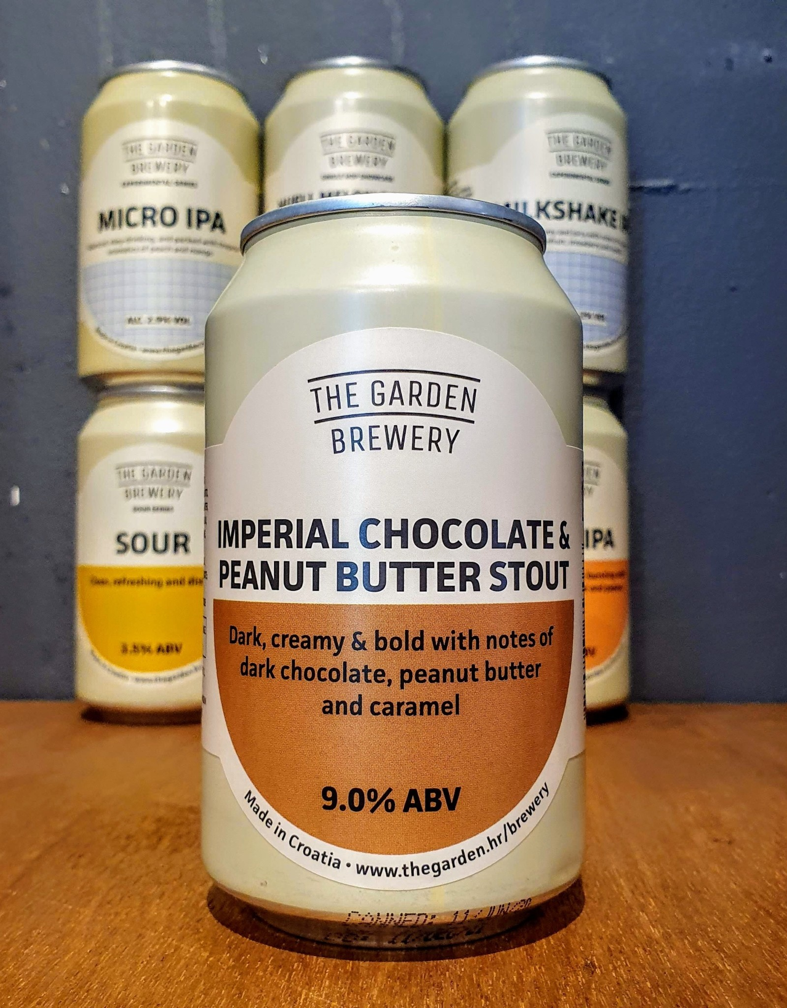 The Garden Brewery The Garden: Imperial Chocolate & Peanut Butter Stout