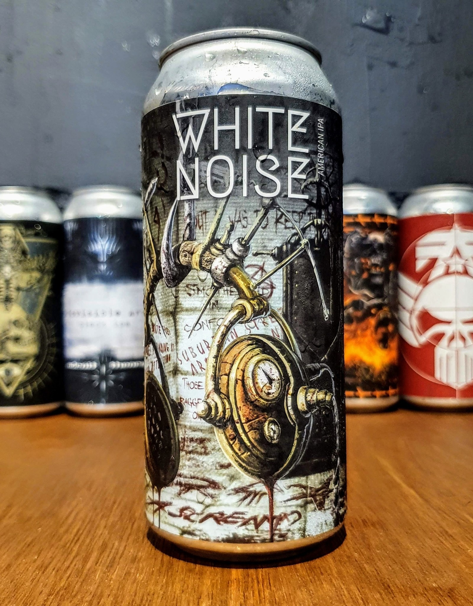 Adroit Theory: White Noise - Ghost 872 - 473