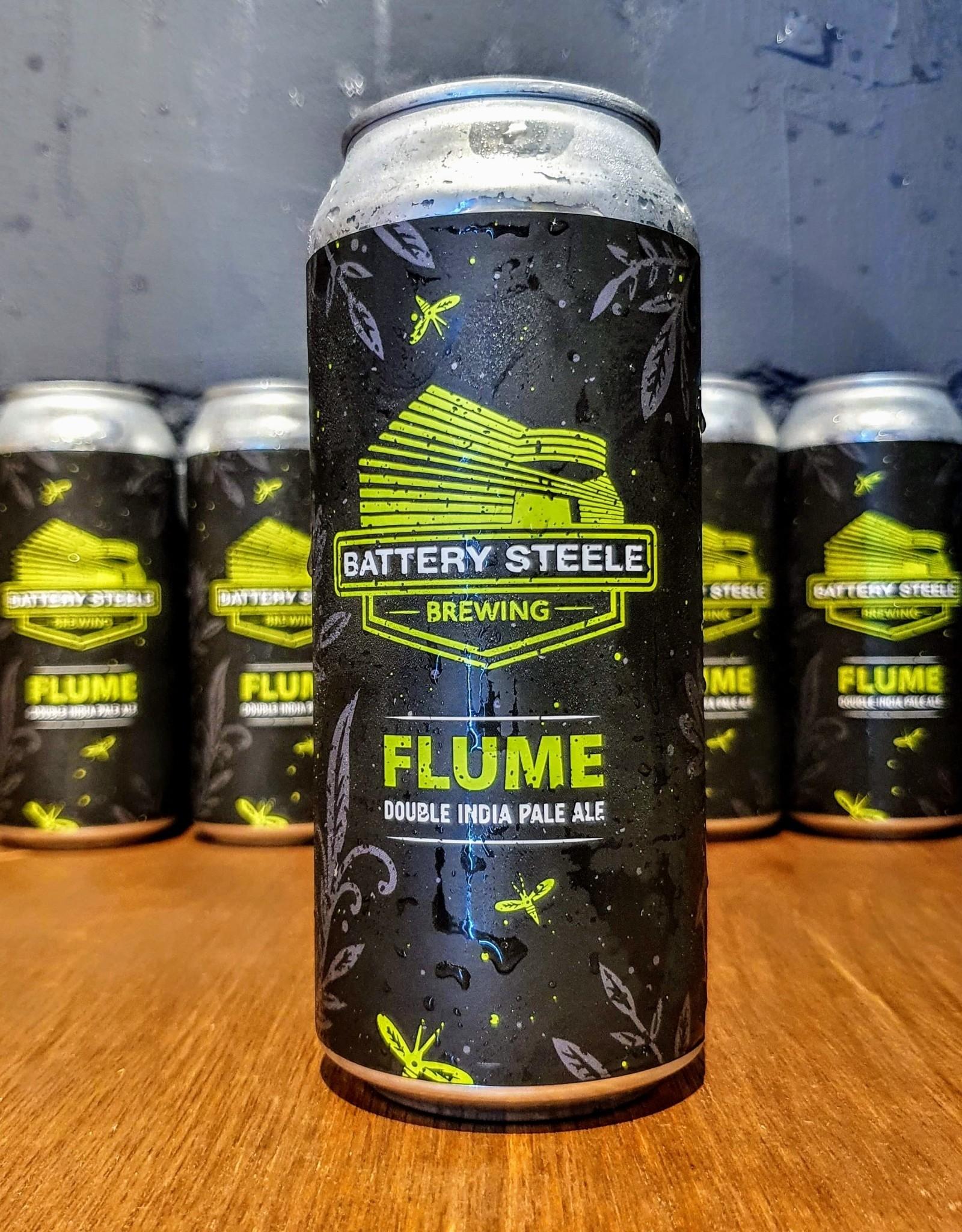 battery steel Battery Steele Brewing: Flume