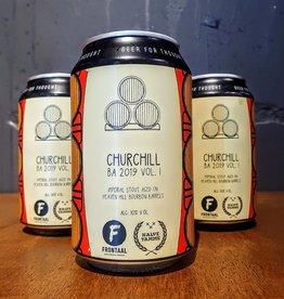 Frontaal x  Halve Tamme: Churchill BA 2019 Vol. I