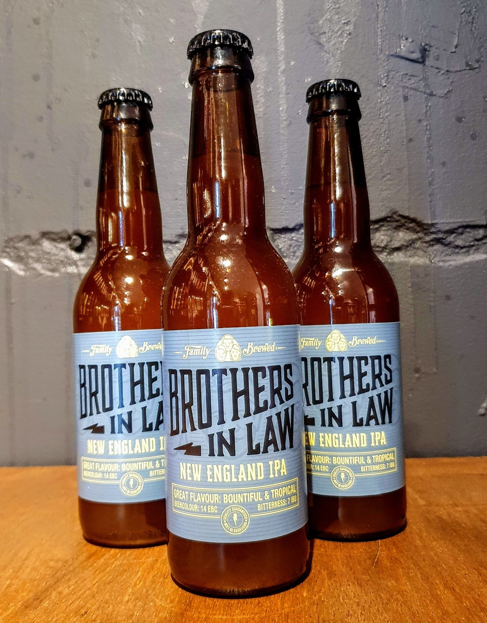 Brothers in law Brothers in Law: NEIPA