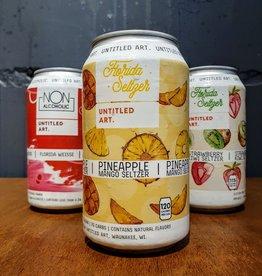 Untitled Art: Florida Seltzer - Mango Pineapple Seltzer