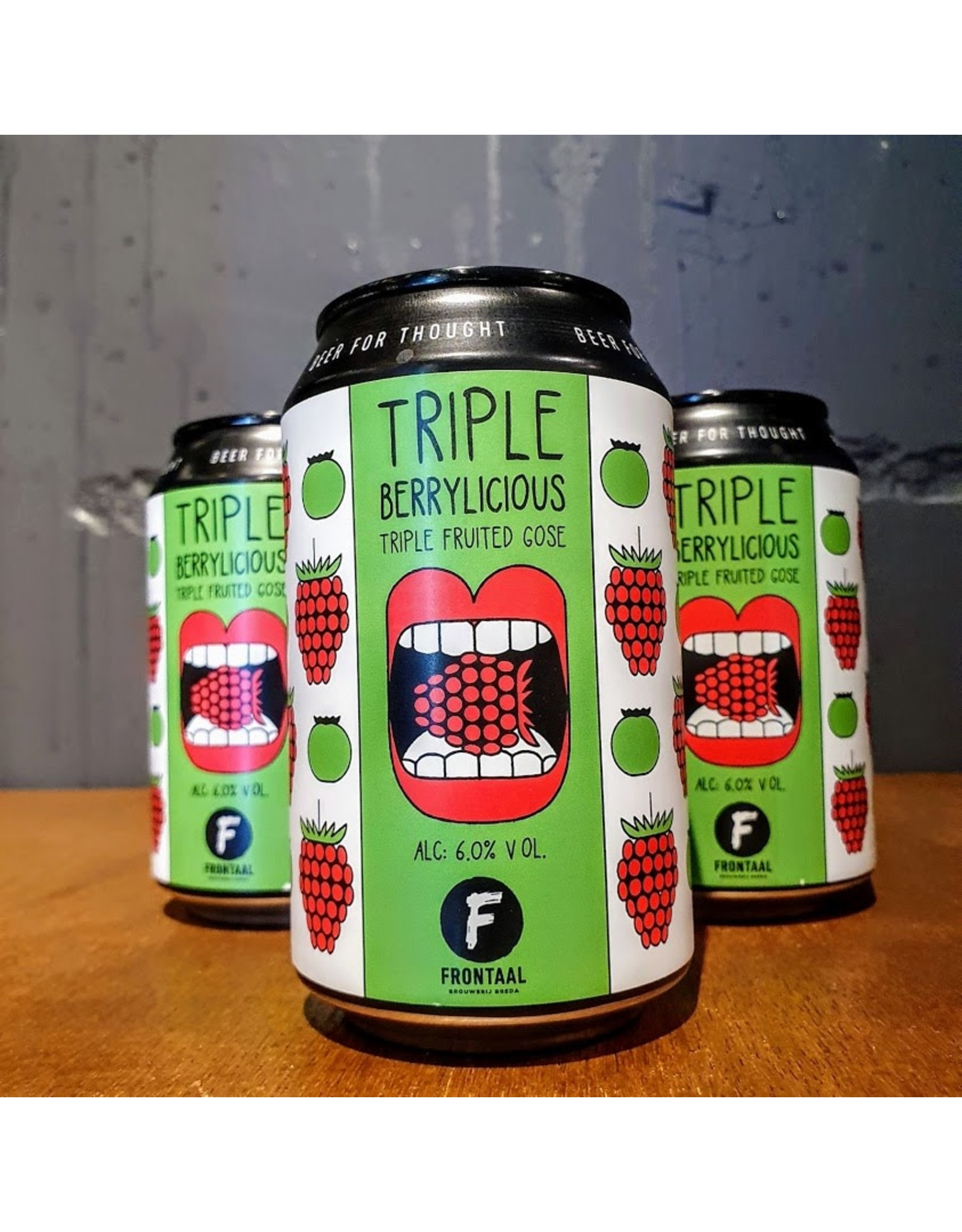 Frontaal: Triple berrylicious