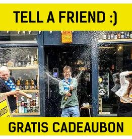 Tell a friend: Verdien extra punten!