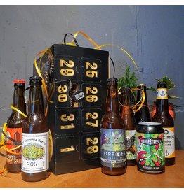 Utrechtse bieren AFTELKALENDER + GLAS