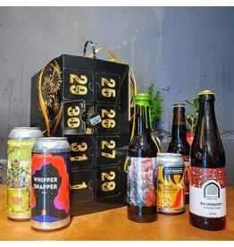 Favoriete bieren AFTELKALENDER + GLAS