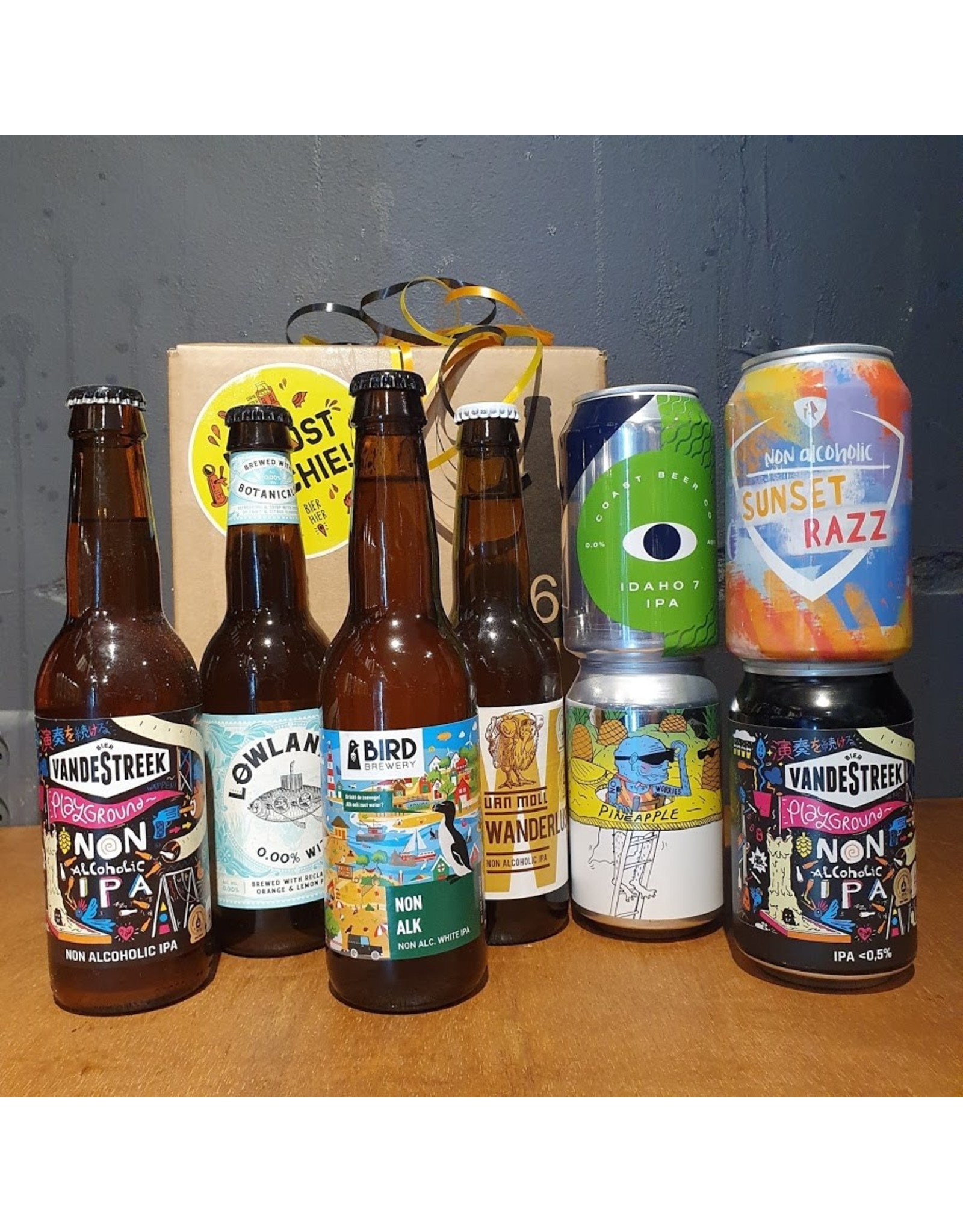Bierpakket alcoholvrij 0.5%