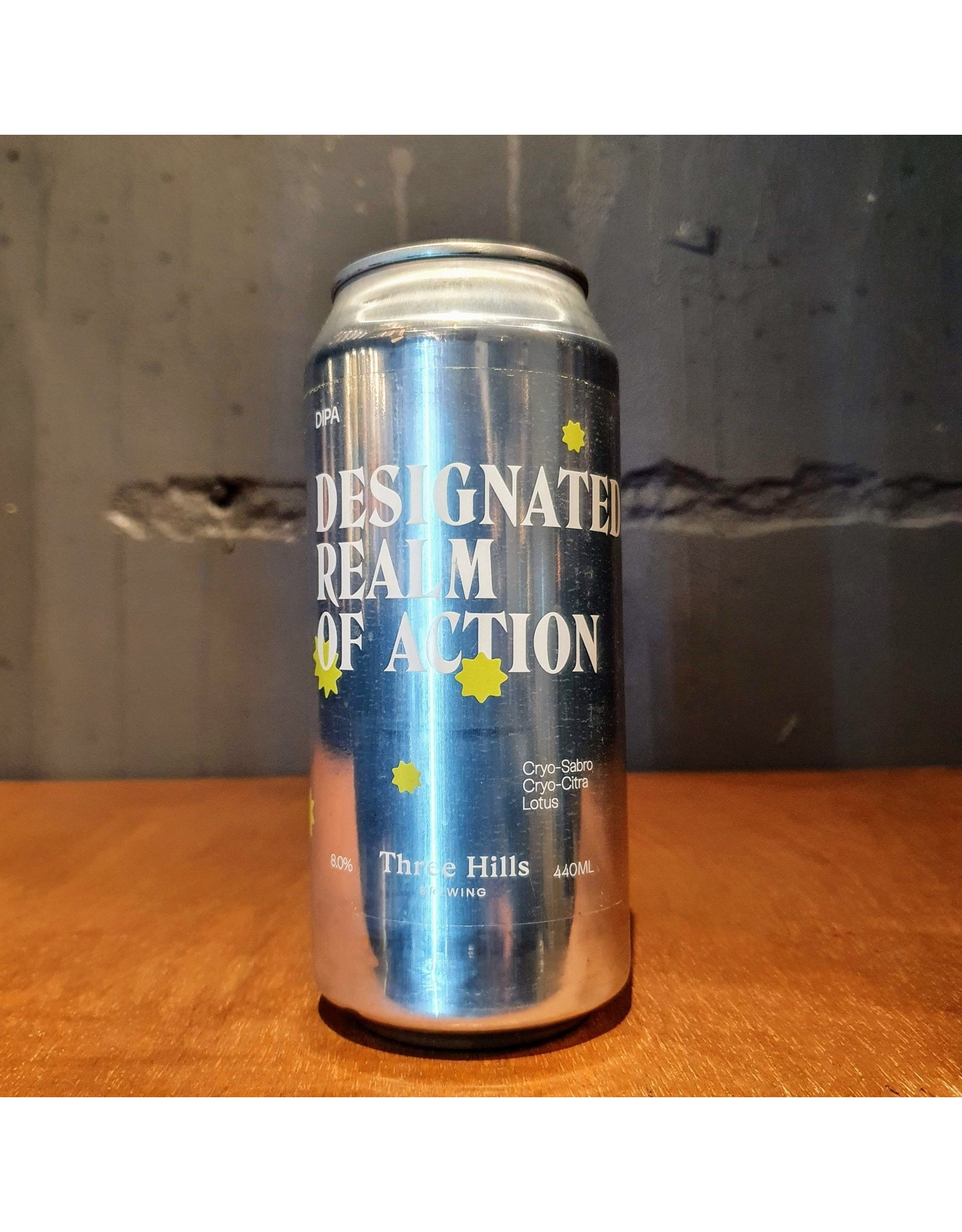 three hills Three Hills: Designated Realm of Action DIPA