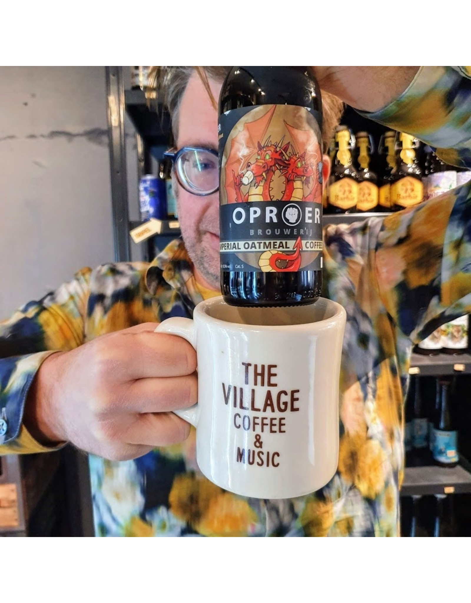 Oproer X the Village: Imperial Oatmeal Coffee Stout