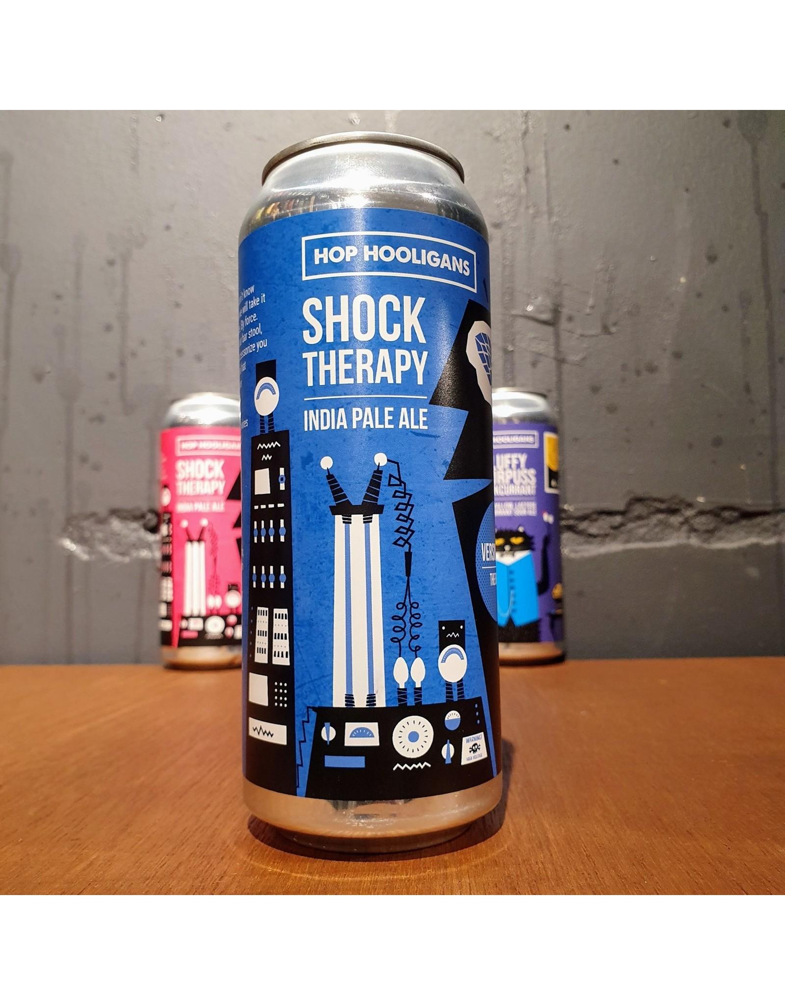 hop hooligans Hop Hooligans - Shock Therapy 28A - the BruceDIPA, 8%, NEDERLAND, BLIK, 440ML