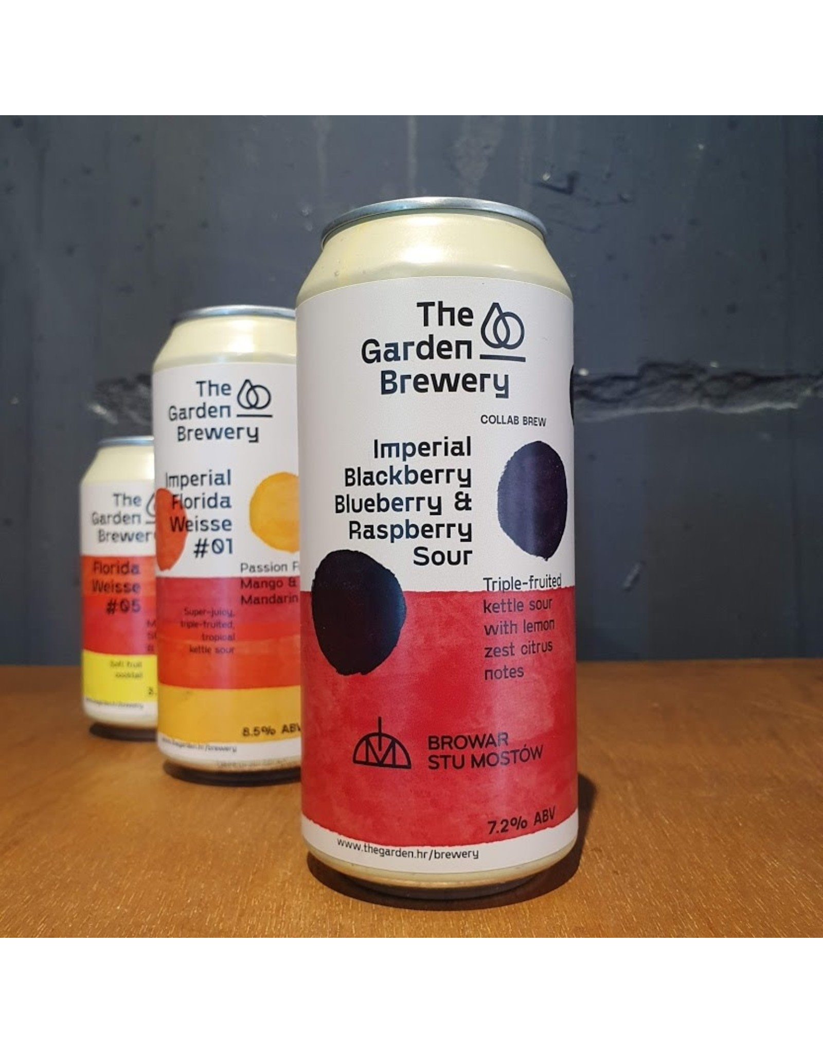 The Garden Brewery The garden brewery - imperial Blackberry, Blueberry & Raspberry Sour
