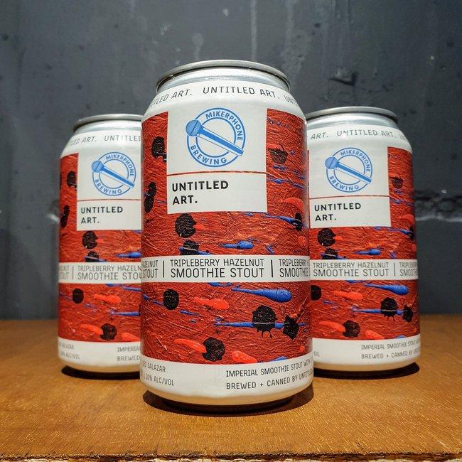 Untitled Art x Mikerphone Brewing: TripleBerry Hazelnut Stout