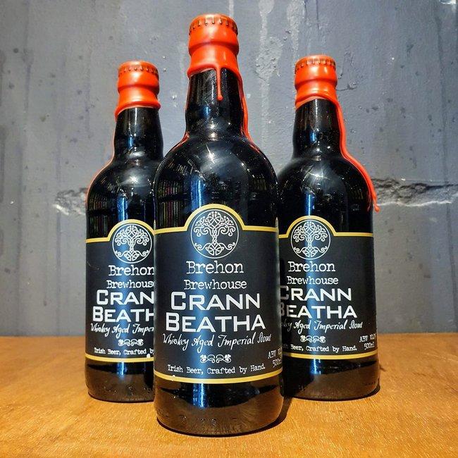 Brehon: Crann Beatha Whiskey Aged Imperial Stout 1