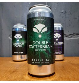 Bearded Iris Bearded Iris Brewing: Double Scatterbrain (DDH Citra)