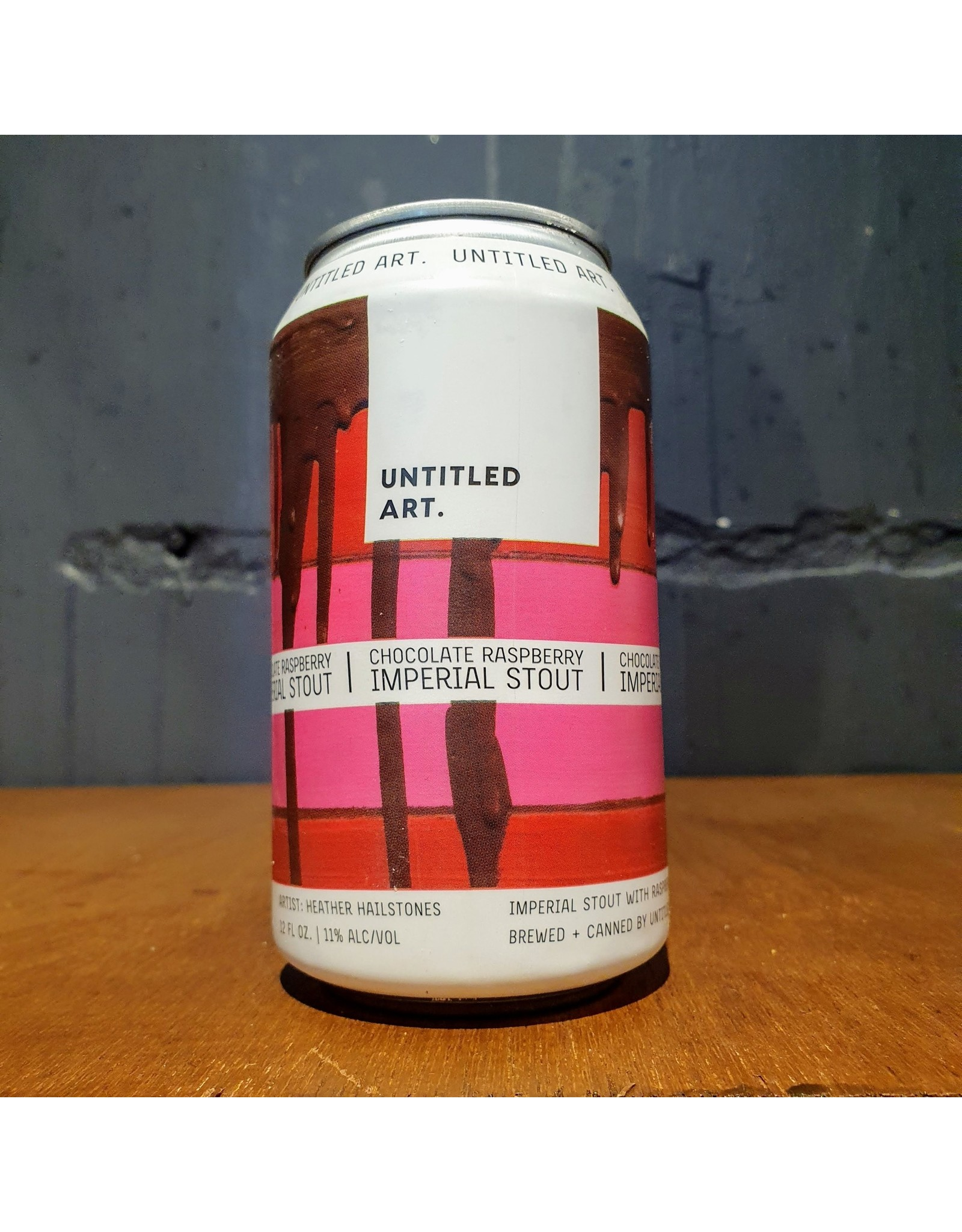 Untitled Art Untitled Art: Chocolate Raspberry Imperial Stout