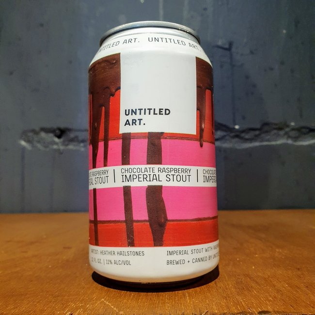 Untitled Art: Chocolate Raspberry Imperial Stout