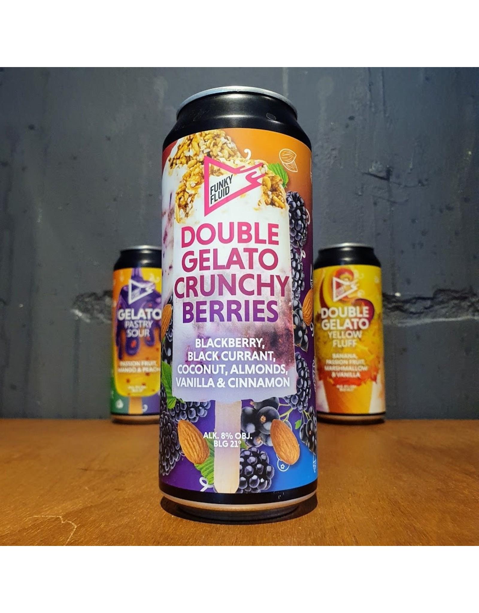 Funky Fluid Funky Fluid - Double Gelato: Crunchy Berries