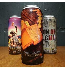 Spartacus Brewing - The Script
