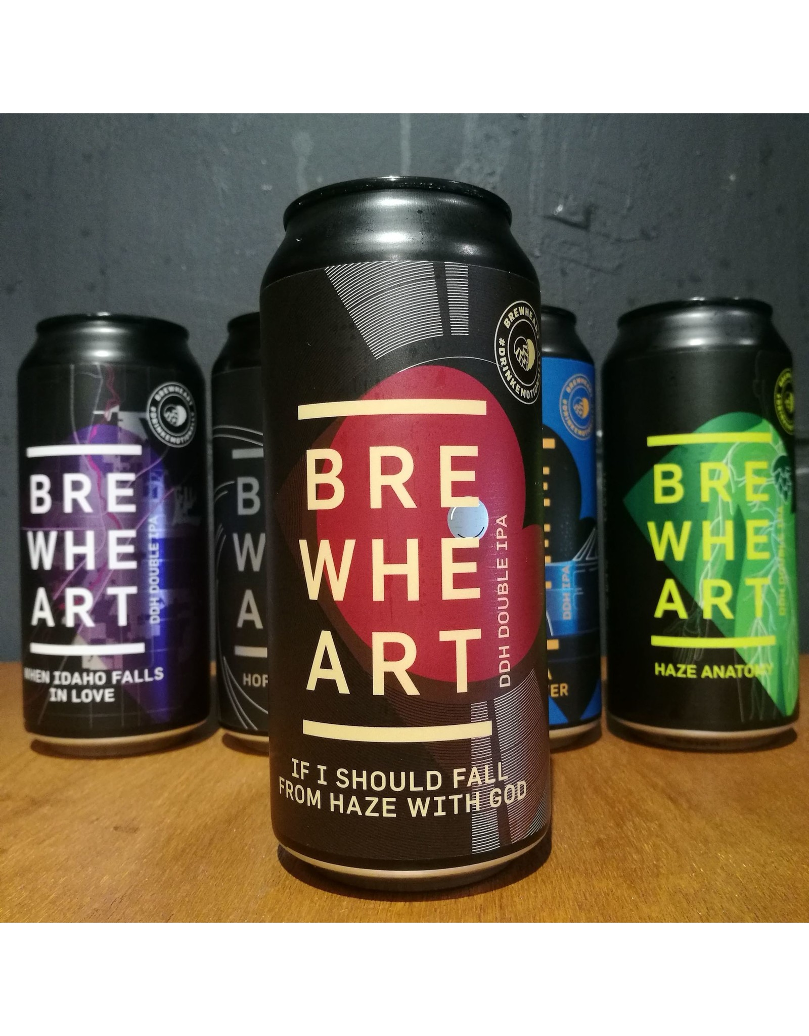 Brewheart Brewheart - If I Should Fall From Haze With God