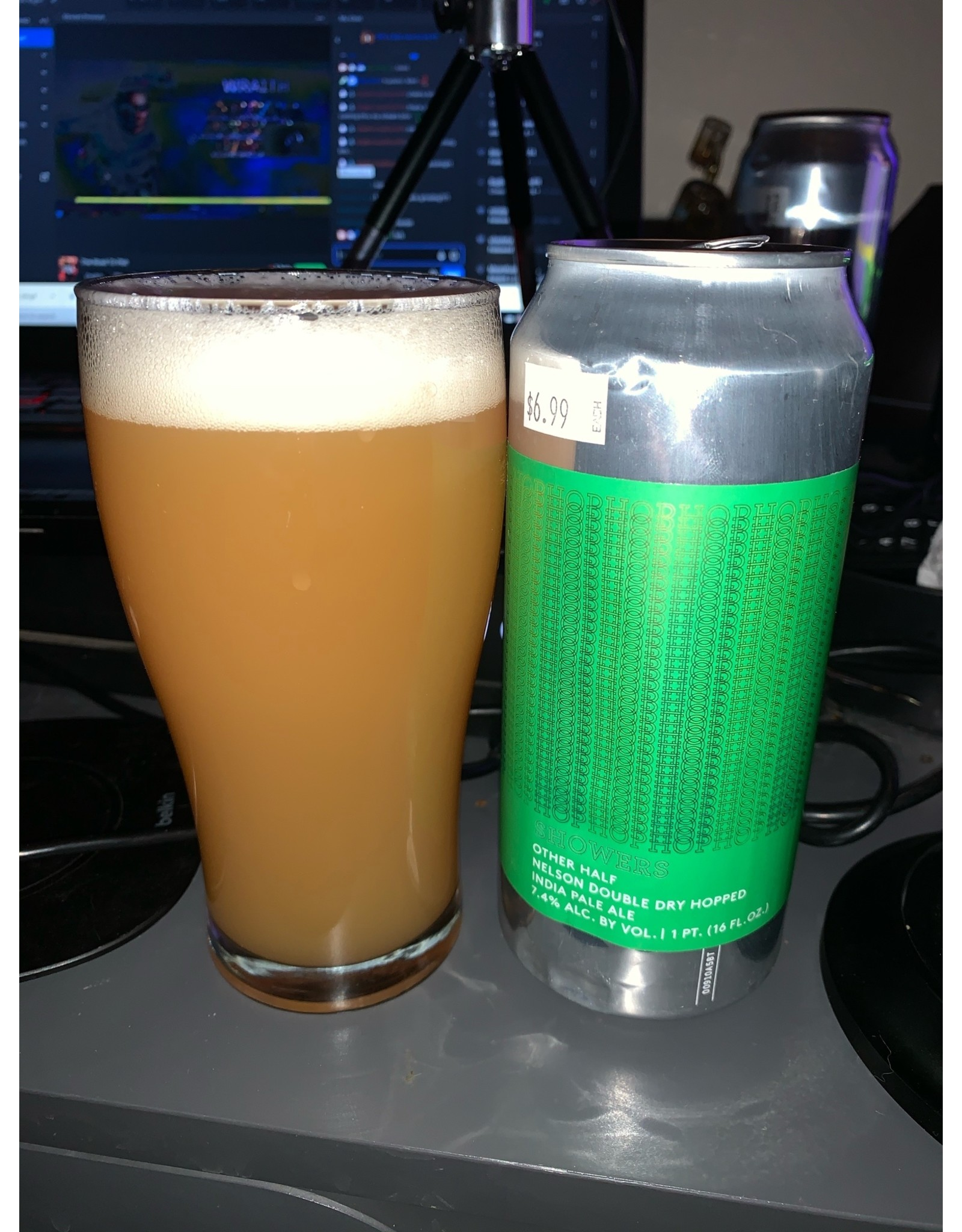 Other half Other Half: DDH Hop Showers w/Nelson